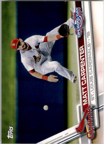 Photo of 2017 Topps Opening Day #156A Matt Carpenter