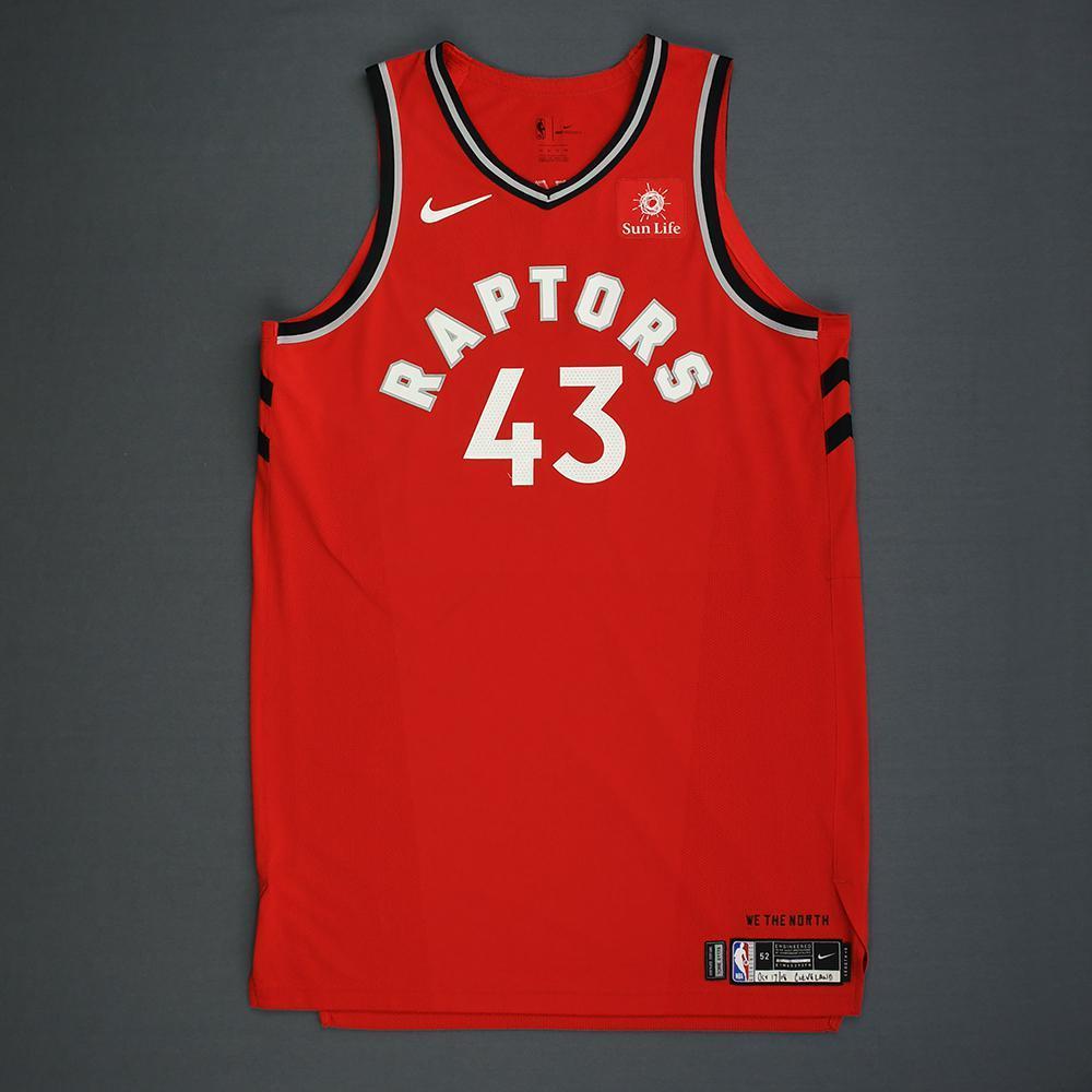 14883b31c05 Pascal Siakam - Toronto Raptors - Kia NBA Tip-Off 2018 - Game-Worn ...