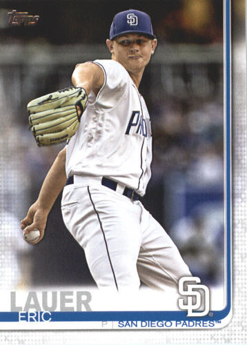 Photo of 2019 Topps #592 Eric Lauer