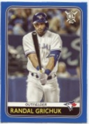 Photo of 2020 Topps Big League Blue #185 Randal Grichuk