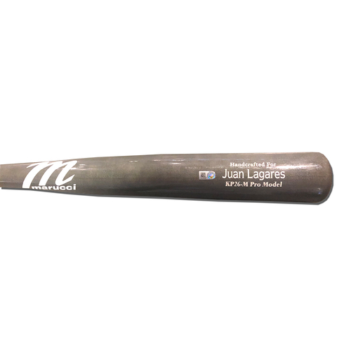 Photo of Juan Lagares #12 - Team Issued Full Grey Marucci Bat - 2019 Season