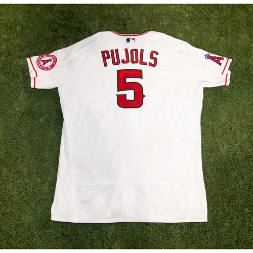 Photo of PRESALE - Albert Pujols Game-Used or Team-Issued Jersey from 8/14/20 Game vs. LAD