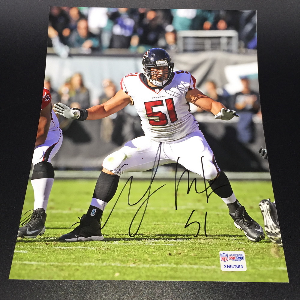 NFL - Falcons Alex Mack Signed Photo