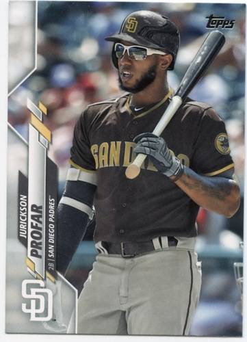 Photo of 2020 Topps #524 Jurickson Profar
