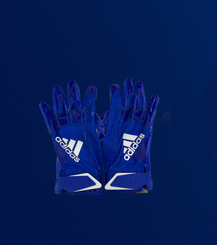 Photo of Josh Reynolds Game Used Gloves - (1/3/2021 VS. Arizona Cardinals)