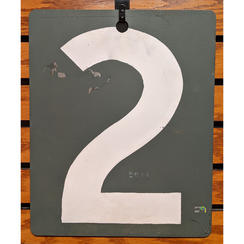 Fenway Park Green Monster Game Used Scoreboard #2