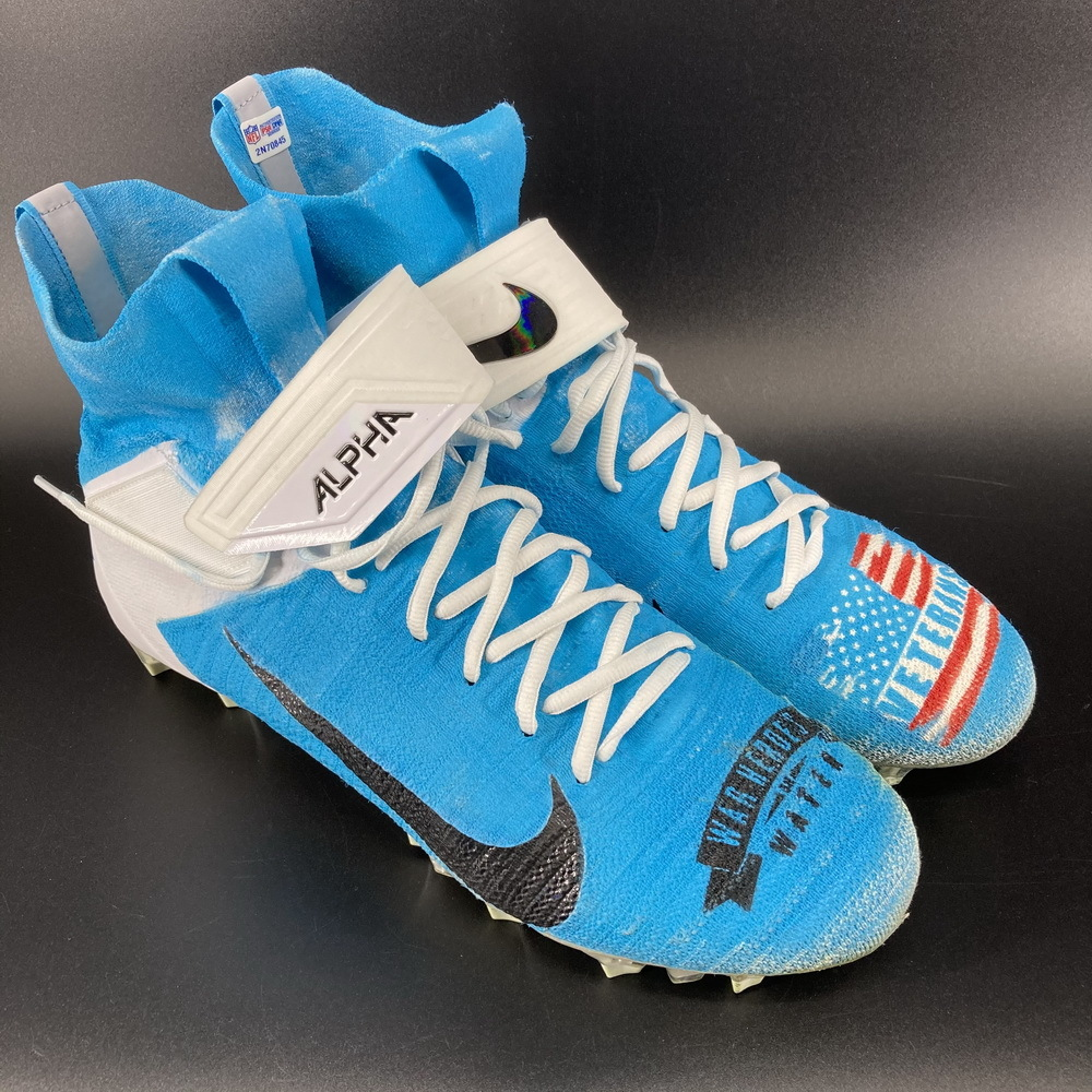 My Cause My Cleats - Rams Morgan Fox Game Used Cleats 2020