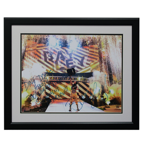 "Photo of Bayley SIGNED 16"" x 20"" Framed Photo"