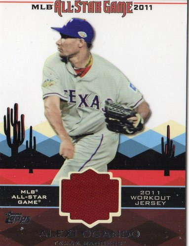 Photo of 2011 Topps Update All-Star Stitches #AS13 Alexi Ogando