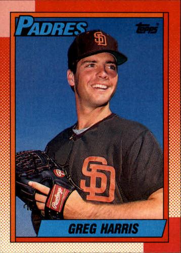 Photo of 1990 Topps #572 Greg W. Harris