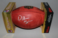 NFL - BROWNS DESHONE KIZER SIGNED AUTHENTIC FOOTBALL