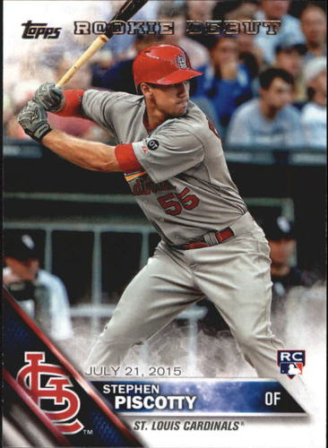 Photo of 2016 Topps Update #US119 Stephen Piscotty Rookie Card