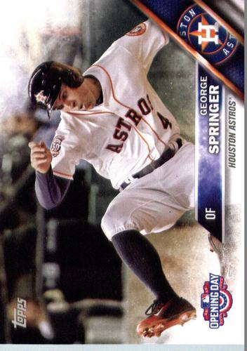 Photo of 2016 Topps Opening Day #OD73 George Springer