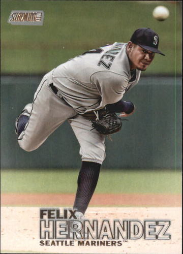 Photo of 2016 Stadium Club #124 Felix Hernandez