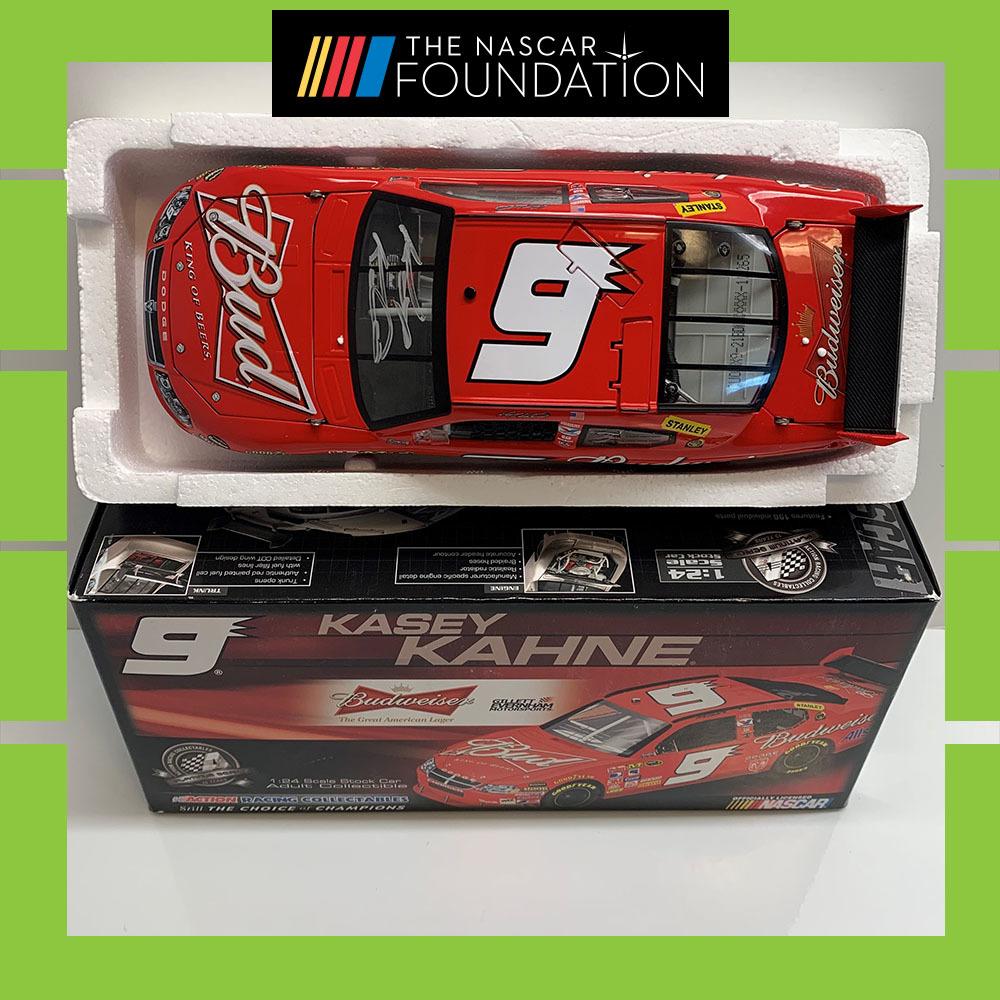 NASCAR's Kasey Kahne autographed Budweiser Diecast!