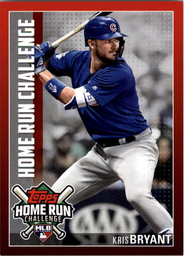 Photo of 2019 Topps Home Run Challenge #HRC12 Kris Bryant