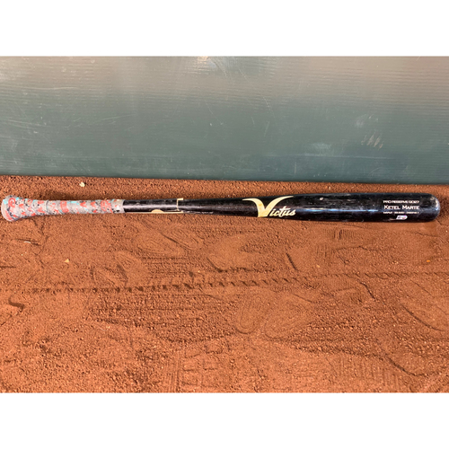Photo of April 29, 2018 Ketel Marte Game-Used Bat