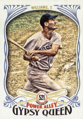Photo of 2016 Topps Gypsy Queen Power Alley #PA2 Ted Williams