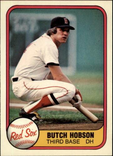 Photo of 1981 Fleer #227 Butch Hobson