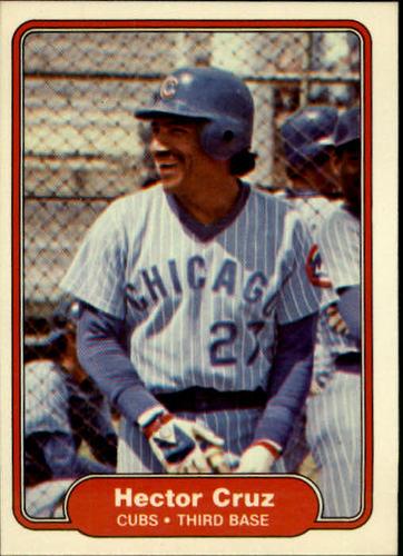 Photo of 1982 Fleer #591 Hector Cruz