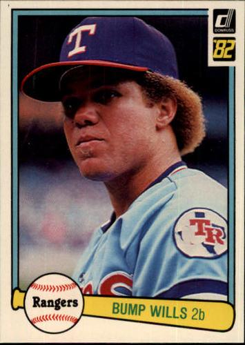 Photo of 1982 Donruss #289 Bump Wills