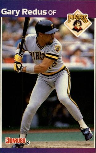Photo of 1989 Donruss #605 Gary Redus DP