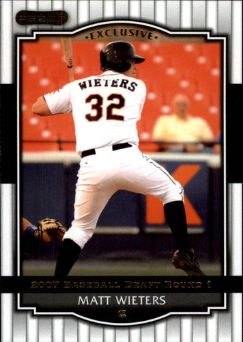 Photo of 2008 Razor Signature Series #54 Matt Wieters