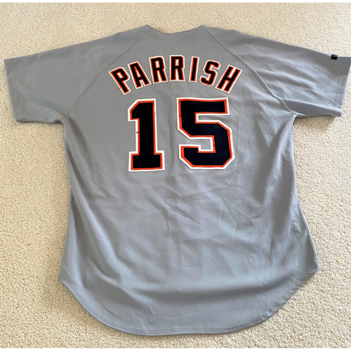 Larry Parrish #15 Detroit Tigers Road Jersey (NOT MLB AUTHENTICATED)