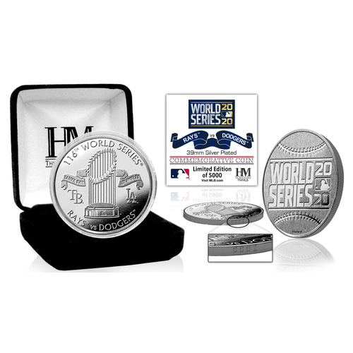 Photo of Serial #1! 2020 World Series Dueling Silver Mint Coin