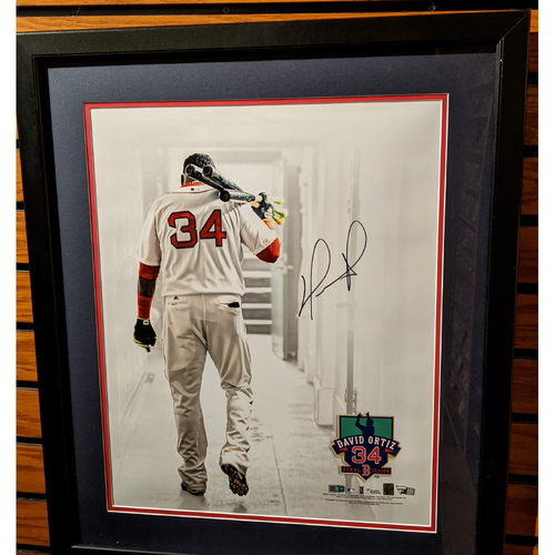 Photo of David Ortiz Autographed Framed Photo