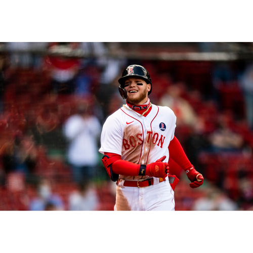 Red Sox Foundation Patriots' Day - Alex Verdugo Authenticated Game-Used Jersey