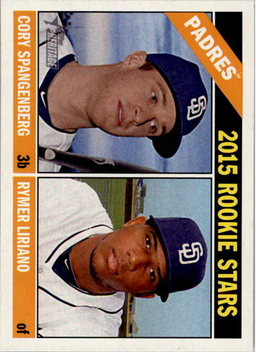 Photo of 2015 Topps Heritage #49 Cory Spangenberg RC/Rymer Liriano RC