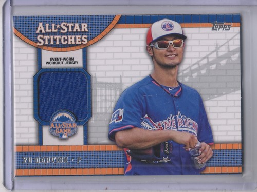 Photo of 2013 Topps Update All Star Stitches #YD Yu Darvish