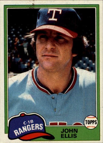 Photo of 1981 Topps #339 John Ellis