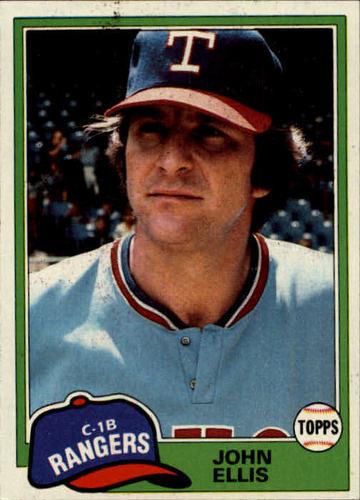 Photo of 1981 Topps #339 John Ellis