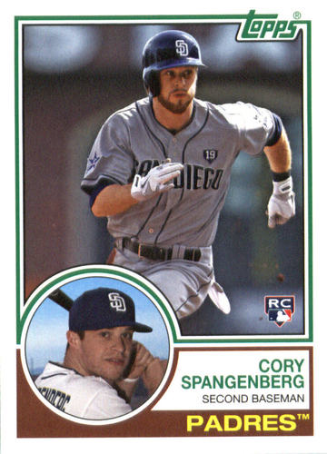 Photo of 2015 Topps Archives #208 Cory Spangenberg RC