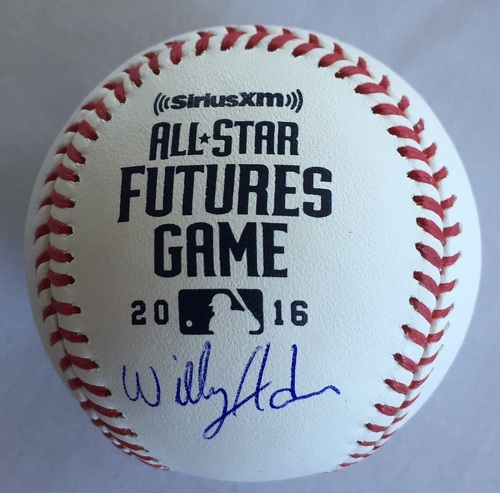 Photo of Willy Adames Autographed 2016 Futures Baseball