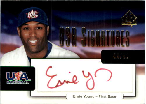 Photo of 2004 SP Authentic USA Signatures 50 #1 Ernie Young
