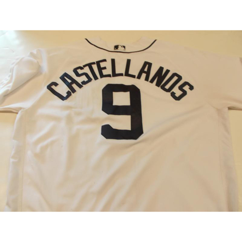 Game-Used Nick Castellanos Home Jersey
