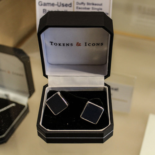 Photo of Kauffman Stadium Seat Cufflinks