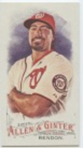 Photo of 2016 Topps Allen and Ginter Mini #266 Anthony Rendon