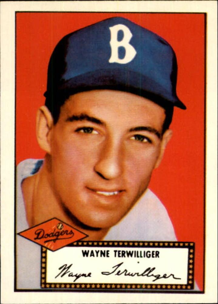 1983 Topps 1952 Reprint #7 Wayne Terwilliger