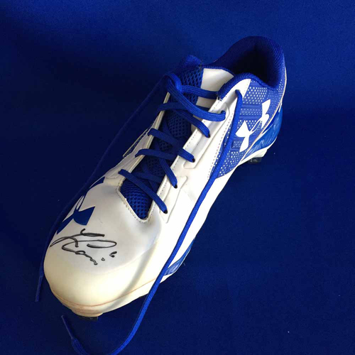 Photo of UMPS CARE AUCTION: Lorenzo Cain Signed Cleat