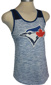 Toronto Blue Jays Women's Excl Space Dye Tank by New Era
