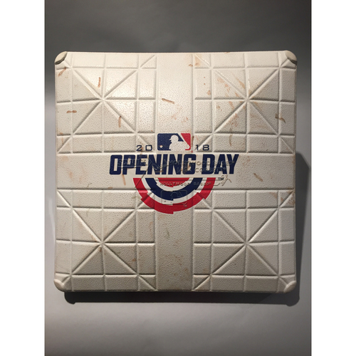 2018 Baltimore Orioles Opening Day Base - 3rd Base used 1st-3rd innings