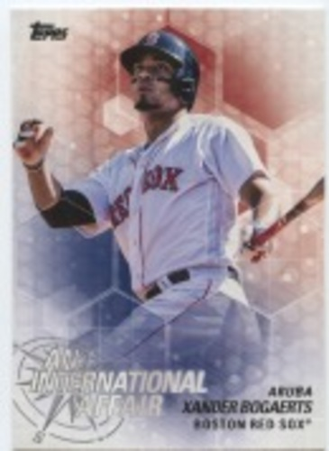 Photo of 2018 Topps Update An International Affair #IA1 Xander Bogaerts