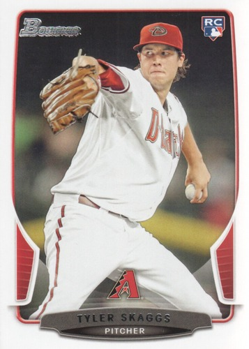 Photo of 2013 Bowman Draft #2 Tyler Skaggs RC
