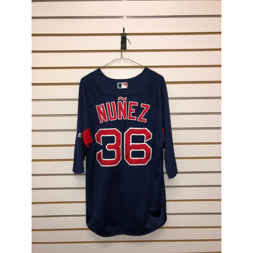 Photo of Eduardo Nunez Team-Issued Road Batting Practice Jersey