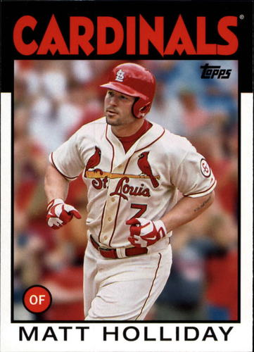 Photo of 2014 Topps Archives #130 Matt Holliday
