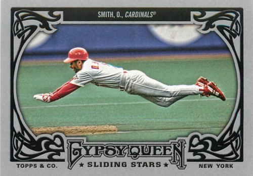 Photo of 2013 Topps Gypsy Queen Sliding Stars #OS Ozzie Smith